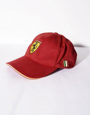 FERRARI red cap boys