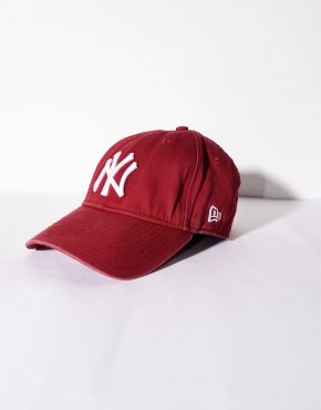 NEW ERA New York Yankees 9forty adjustable red cap