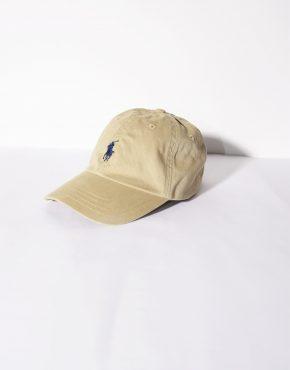 Polo Ralph Lauren vintage beige small baseball cap