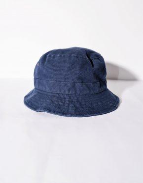 Blue color bucket hat for men