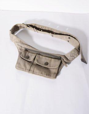 ESPRIT vintage festival bum bag in beige color
