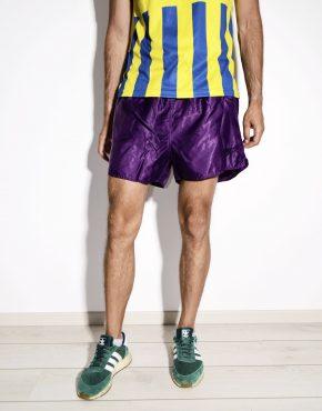 80s NIKE vintage purple running shorts for men
