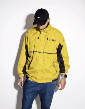 UMBRO men's yellow vintage windbreaker sports jacket