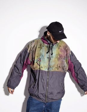 Vintage windbreaker hipster jacket