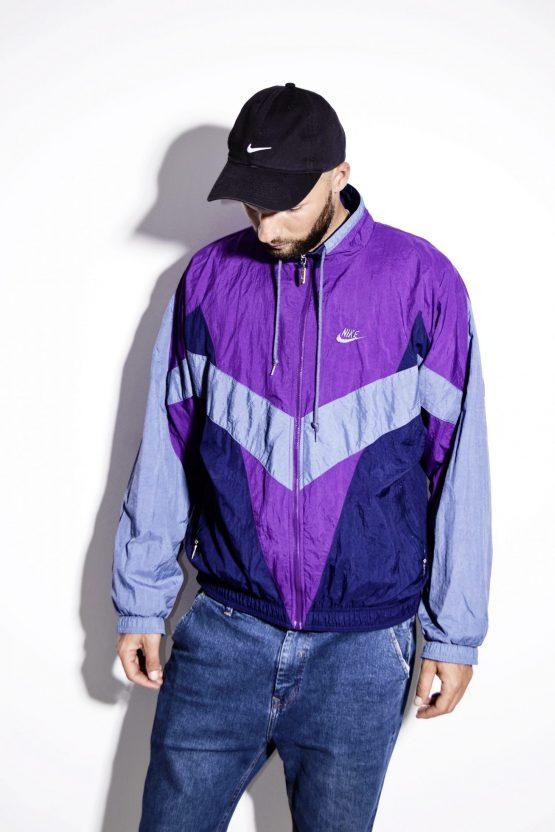 NIKE vintage multi jacket mens