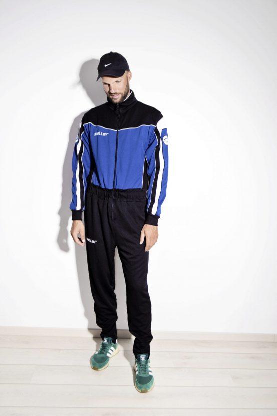 Retro 80s men's sport jumpsuit by SALLER