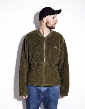 Green Helly Hansen fleece