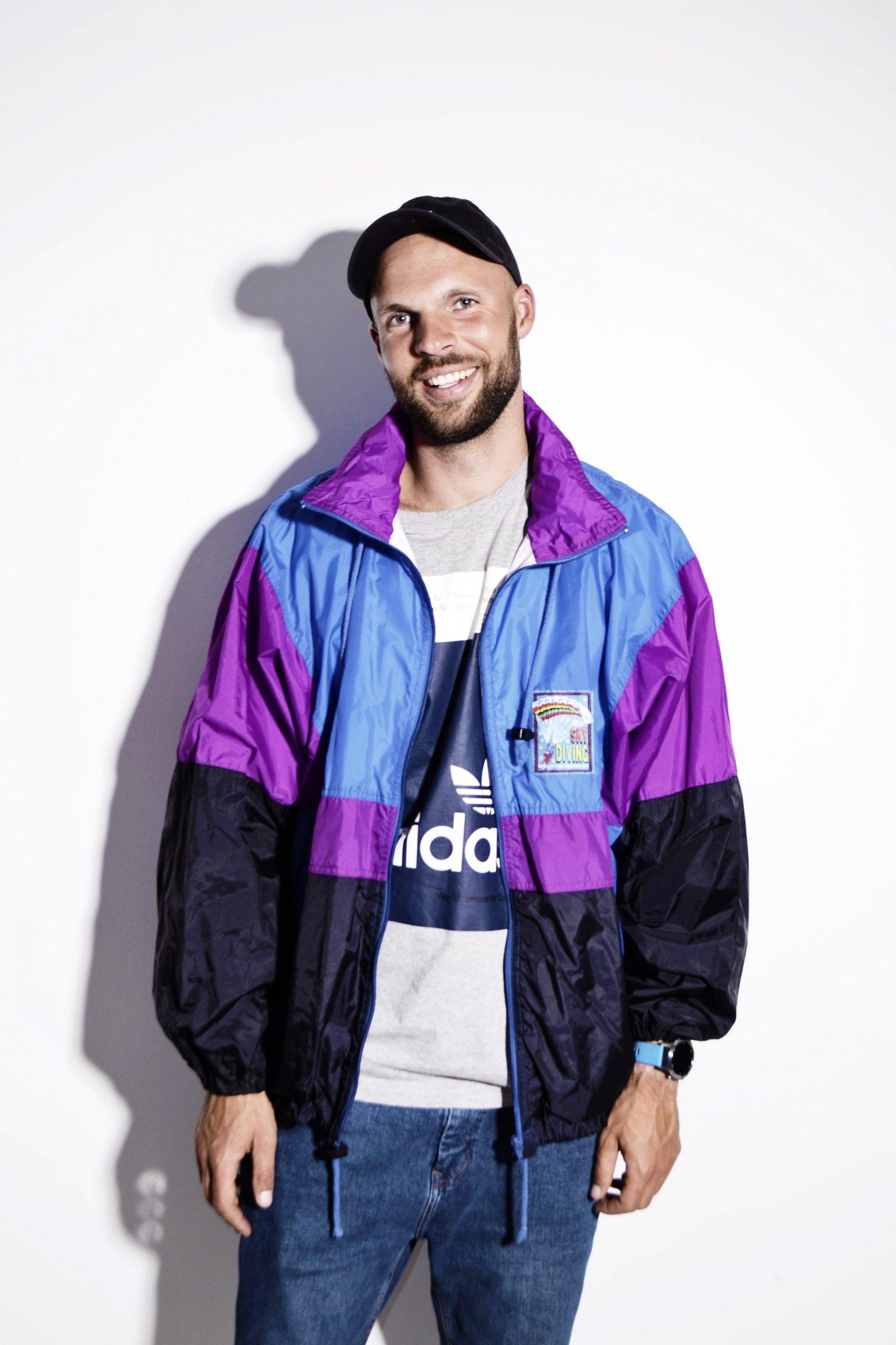 56157cf3f Vintage red sport jacket men | HOT MILK 90's streetwear online