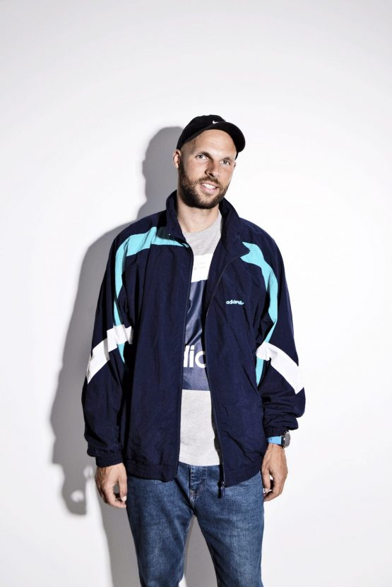 ADIDAS ORIGINALS blue jacket