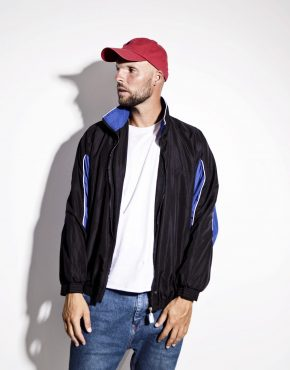 Mens windbreaker shell jacket