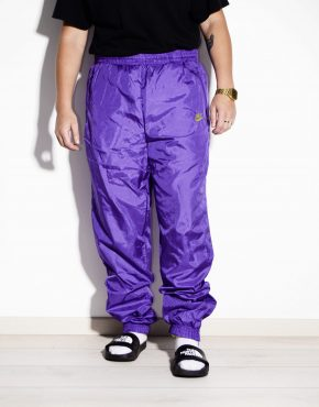 NIKE purple vintage nylon shell pants