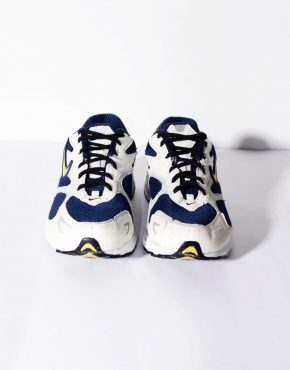 Nike Air 90's classic trainers low top white blue running shoes