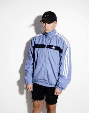 ADIDAS unisex track top wind jacket blue