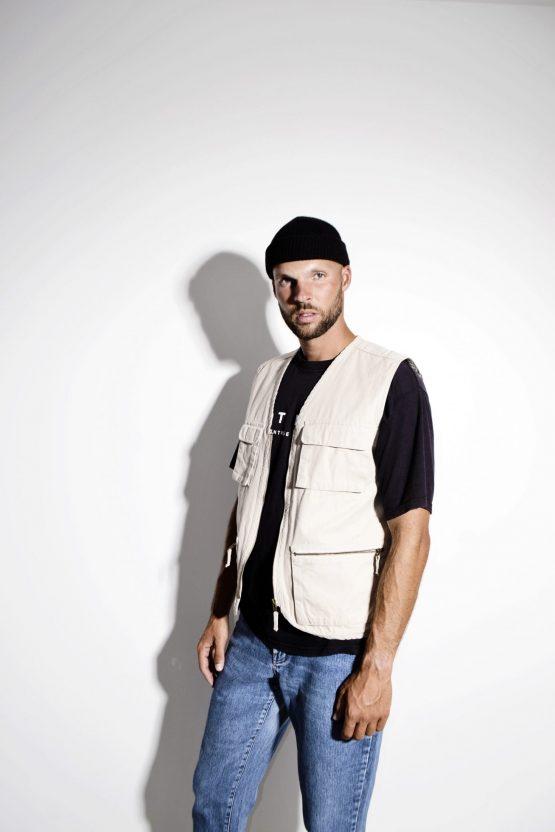 90s mens utility vest