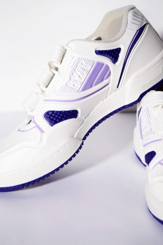 White retro trainers for women or kids