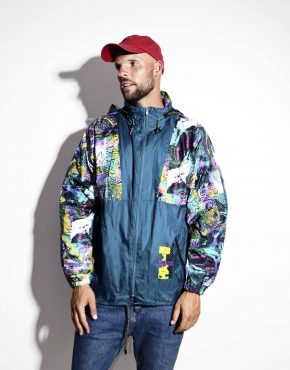 80s lightweight wind shell jacket