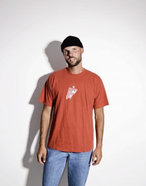 MARLBORO CLASSICS cotton red men's t-shirt