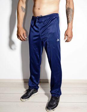 PUMA retro track pants blue medium