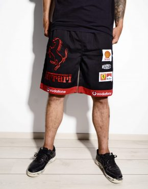 FERRARI shorts men black XL