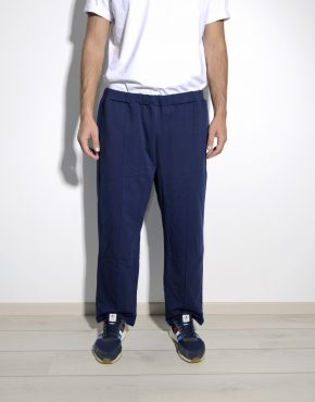 Retro mens blue sweatpants