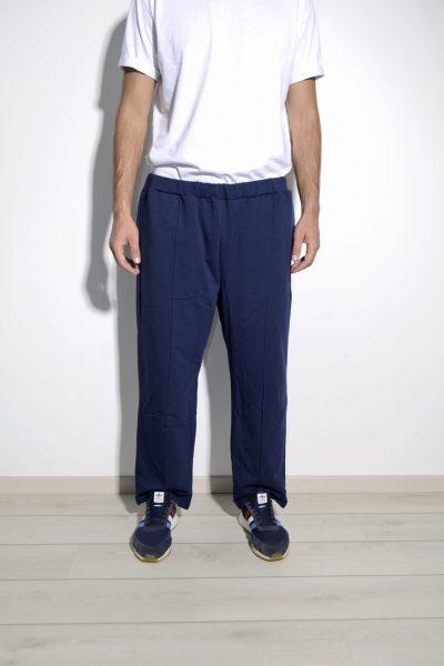 Retro mens blue sweatpants