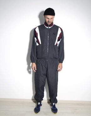 Vintage tracksuit set for men gray