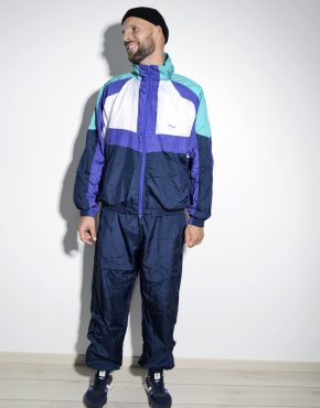 80's blue shell suit for men