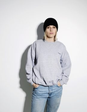 DIADORA vintage sweatshirt gray