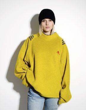 ADIDAS 80s retro warm ski pullover