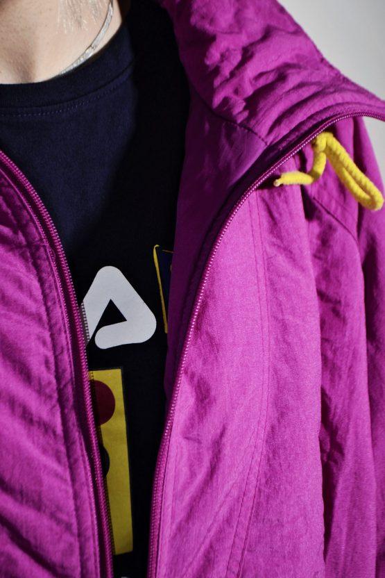 80s retro ski jacket warm parka