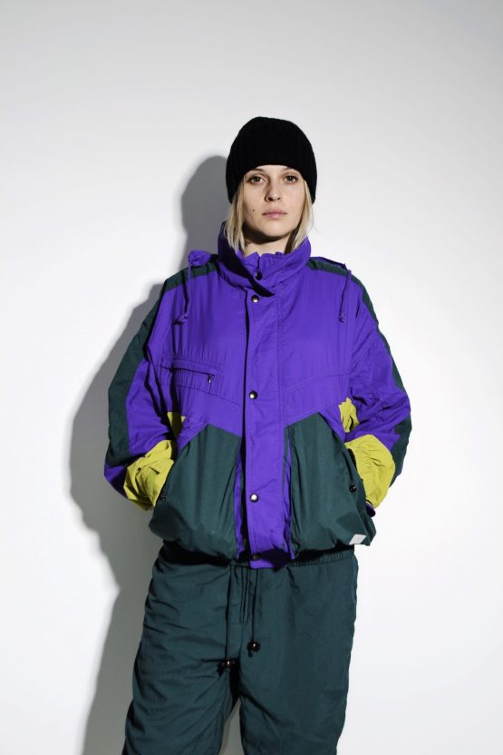80s multi sports shell suit