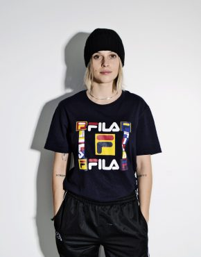 FILA 90s vintage t-shirt for women M