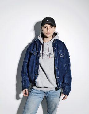 80s vintage denim jacket unisex