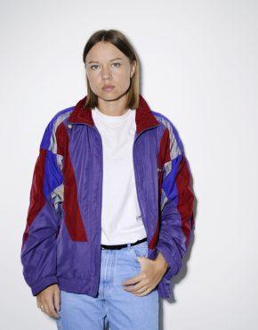 Vintage ADIDAS sport rave shell jacket top