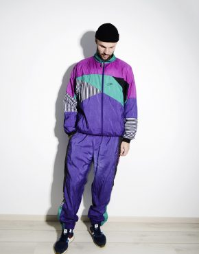 Vintage 90s men multi tracksuit