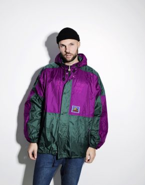 90s vintage shell jacket