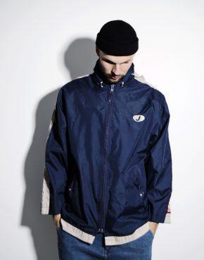 Vintage jacket men blue