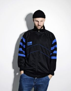 Vintage tracksuit top sports jacket