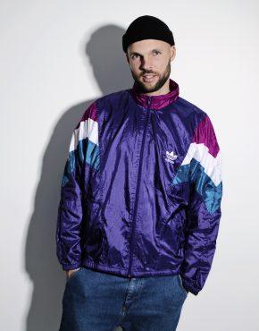 Vintage ADIDAS sport rave shell jacket