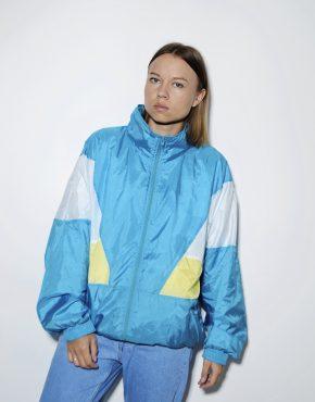 Retro vintage jacket crazy wind shell top