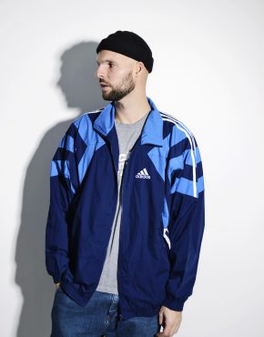 Vintage ADIDAS sports rave shell jacket