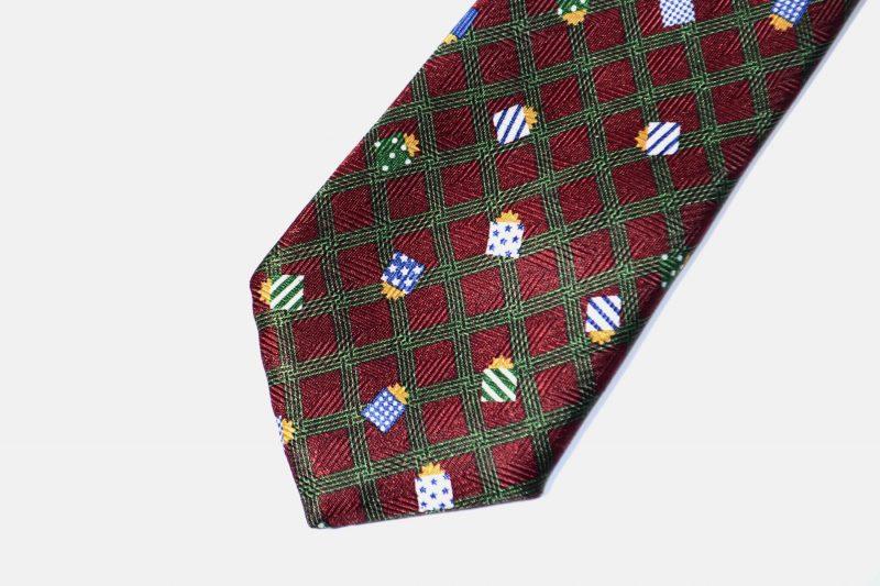 90s vintage necktie mens printed gift boxes