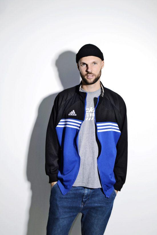 90s Adidas sport jacket L