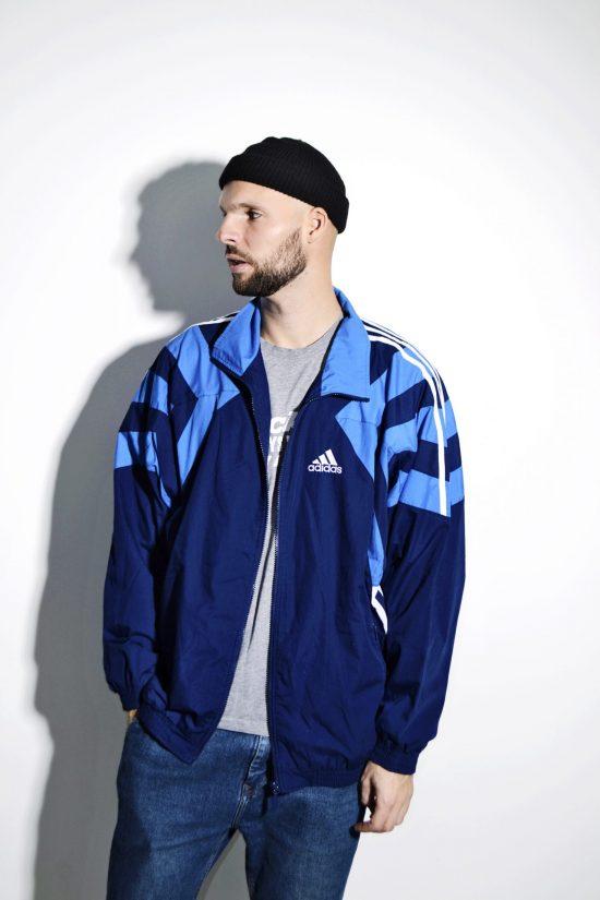 Vintage ADIDAS sports rave shell jacket