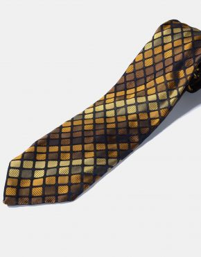 Retro 50s modern necktie for men