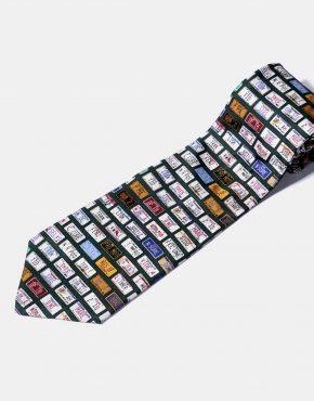 90s vintage silk necktie mens