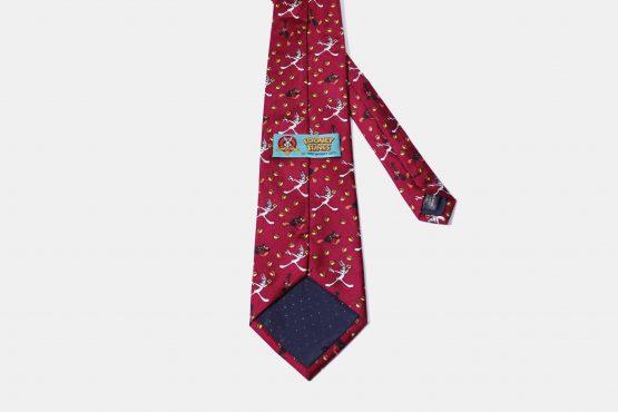 90s Looney Tunes tie vintage silk necktie