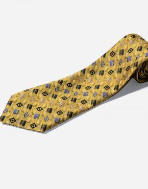Retro 60s modern necktie men