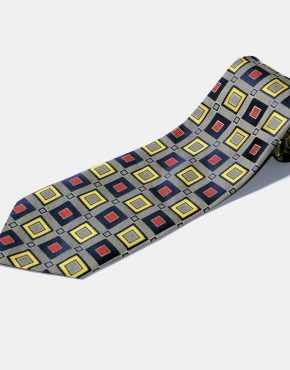 Retro 60s modern necktie
