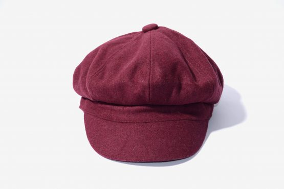 Vintage visor beret for women
